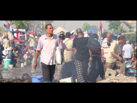 Wounded and killed protesters being transferred | RABAA massacre