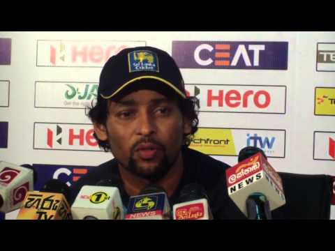 1st ODI, Post Match Press Conference:TM Dilshan and J Holder – Windies tour 2015