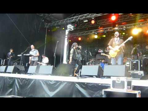 THE BARLEY MOB,.  medicne man. main stage @ strawberry festival 2.6.12