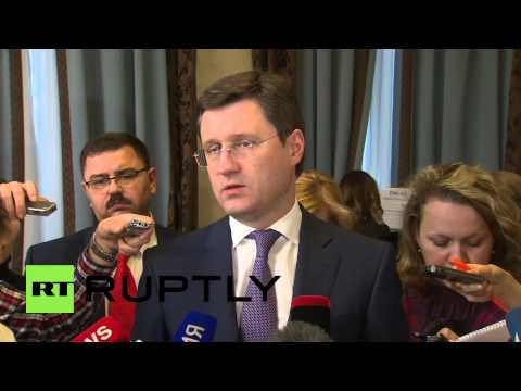 Russia: Novak says Moscow to supply gas to Ukraine in line with 2009 contracts