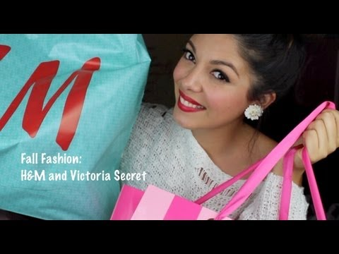 H&M + Victoria Secret Fall Shopping Haul