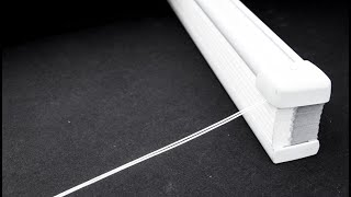 How to Restring a Cellular Honeycomb Shade (Comfortex)