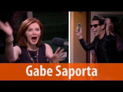 Gabe Saporta Surprises Kellie & Debuts Cobra Starship's New Song