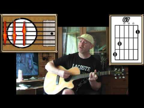 Blue Moon - Bobby Vinton, Sinatra & Elvis Etc. - Acoustic Guitar Lesson