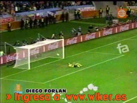 Goles de Diego Forlán - Mundial Sudáfrica 2010