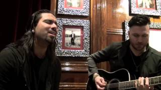 "POP EVIL "" TORN TO PIECES "" ACOUSTIC SONG @ HARD ROCK CAFE PARIS BY ROCKNLIVE PROD"