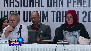 KPU Umumkan Hasil Rekapitulasi Pemilu 2019 - BREAKING NEWS