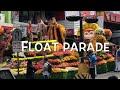 Panagbenga Float parade 2018 Baguio Philippines