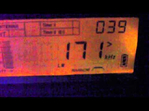 171 khz Radio Medi 1 , Nador , Marrocos Received in Brazil !!!!  Distance 7.603 khz