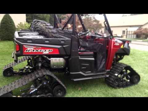 2015 Polaris Ranger 900 XP with tracks