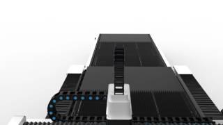 Bodor laser New model of P1530 all closed sheet metal cutting machine