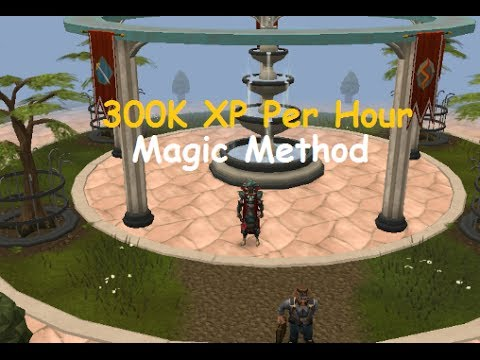 Runescape 300K Xp Per Hour Magic Method – 2013/2014