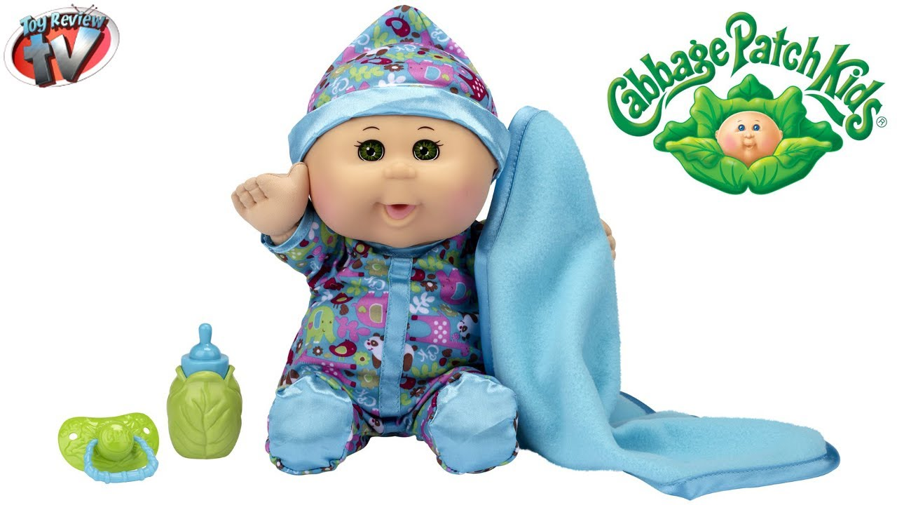 Cabbage patch kids babies doll toy review jakks pacific youtube
