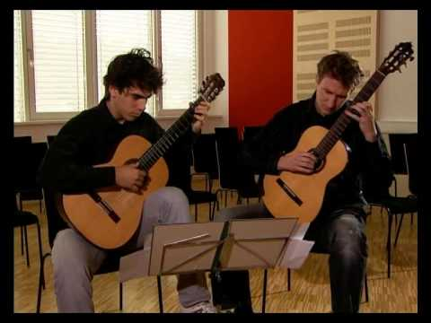 PROKOFIEV GUITAR DUO (Nejc Kuhar and Mak Grgić) playing Egberto Gismonti: Aqua e Vinho