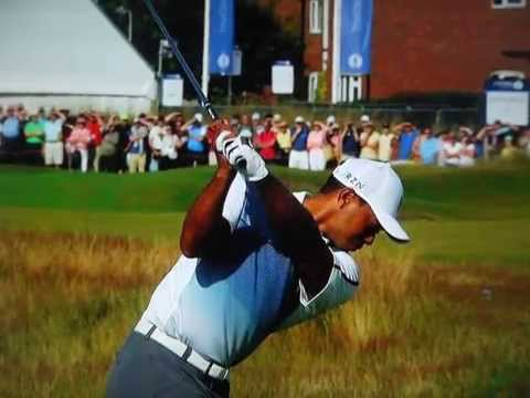 Tiger Woods - Super Slow Motion (2014 Open Championship)