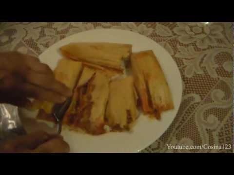 Tamales De Carne de Puerco