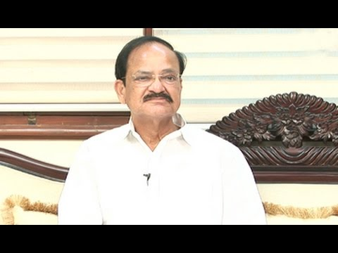 Chit Chat with Venkaiah Naidu