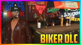 GTA ONLINE BIKER DLC - MOST EXPENSIVE 'MC CLUBHOUSE' TOUR! (GTA 5 Online New DLC)