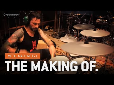 Metal Machine EZX : Making Of (Expansion for EZdrummer)