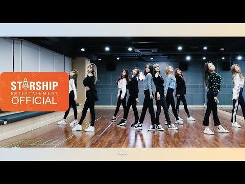 [Dance Practice] 우주소녀 (WJSN) - La La Love Fixed Cam Ver.