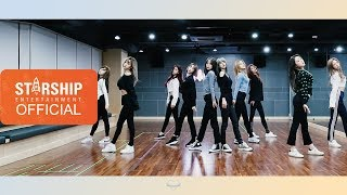 Dance Practice 우주소녀 Wjsn La La Love Fixed Cam Ver