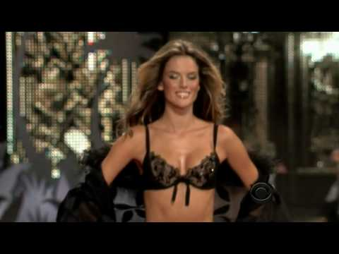 Alessandra Ambrosio – Victoria's Secret Runway Compilation HD