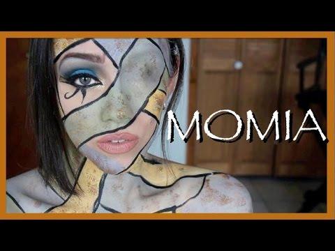 MOMIA: Maquillaje inspirado en THE PYRAMID (película)
