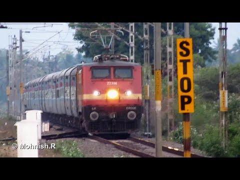 Wap-4 Jayanti Janta Blasts Past At Flat 110km hr. video