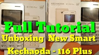 Unboxing with Full Review Smart Mobile Kechaoda 116 Plus | BT Future
