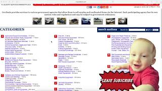 GovDeals.Com Review Government Auctions |  eBay & Amazon Sourcing for $$