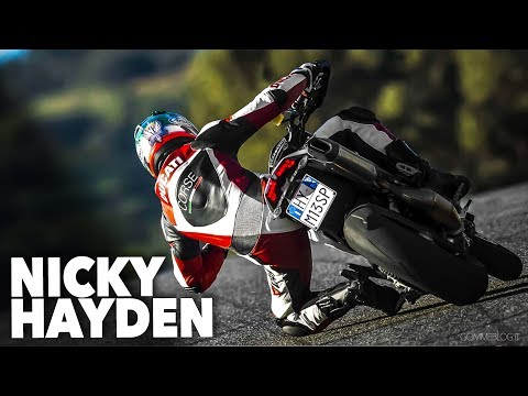 2013 Ducati Hypermotard - Nicky Hayden Great Speed Track Test