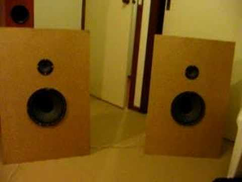 My diapole/open baffle speakers