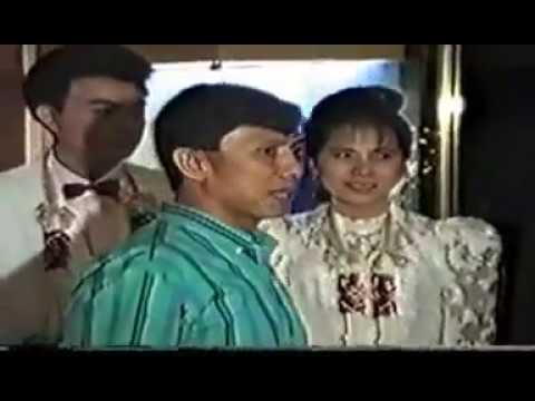 tae and jum on wedding night party 05jan1990 at Bangkok Palace Hotel