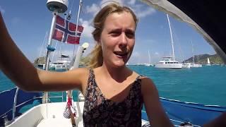 Sailing Hakuna Matata Ep. 13 - Watching the beautiful J-class yachts in St. Barths!