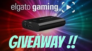Elgato Game Capture HD GIVEAWAY 2016!!! [Closed]