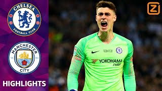 Keeper KEPA WEIGERT te WISSELEN 💥 | Chelsea vs Manchester City | League Cup 2018/19 | Samenvatting