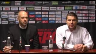 Sport - KooKoo lehdistötilaisuus 18.11.2016