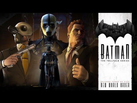 Batman All Cutscenes (Telltale Series) Game Movie | Episode 3: New World Order
