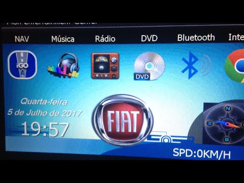 Central MULTIMIDIA - Roadrover no Fiat Idea -  Review m1 estava num Gol - Tablet PALIO STRADA 2DIN