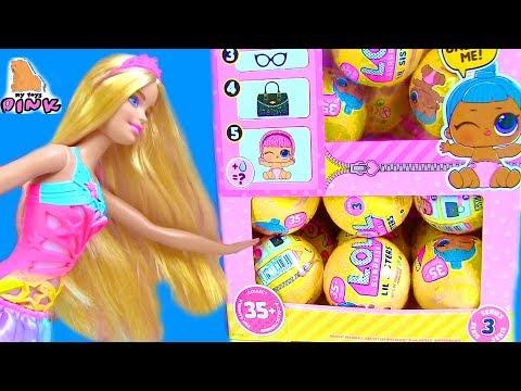 #ДЕТИ НА КОНКУРСЕ КРАСОТЫ! LOL LIL SISTERS FULL CASE! Сюрпризы ЛОЛ - Видео для Детей My Toys Pink