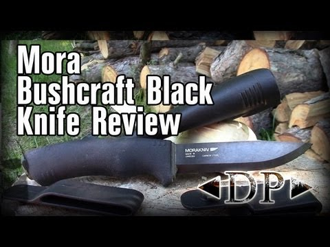 Mora Bushcraft Black Carbon Steel Knife Review