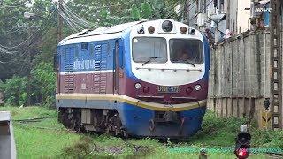 Ga Sài Gòn: Cận Cảnh Đầu Máy Xe Lửa Nối Vào Toa Tàu SE6 Chuẩn Bị Hành Trình Đi Hà Nội (Nov 19, 2017)