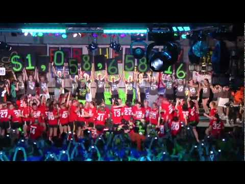The University of Iowa Dance Marathon 16 - Tote Board Video