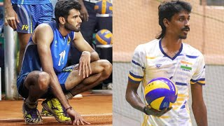 INDIA vs IRAN | 20th Asian men's volleyball championship | Match Highlights | Ajith lal , Jerome