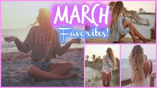 March Favorites // Beauty, Fashion & more!
