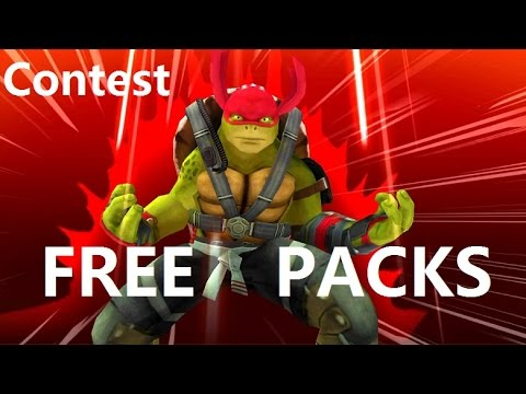 Ninja turtles Legends FREE EPIC PACKS Contest