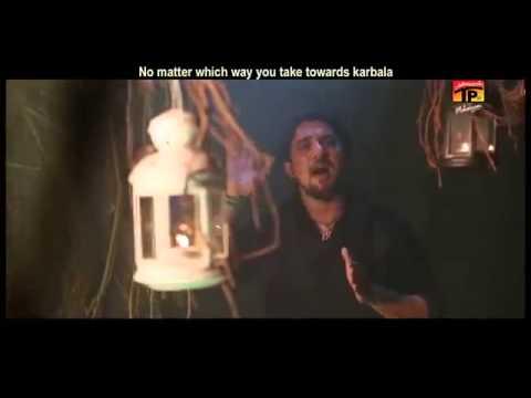 Main Paidal Chala Karbala Farhan Ali Waris Noha - 2013-14 ( 1435 Hijri ) video
