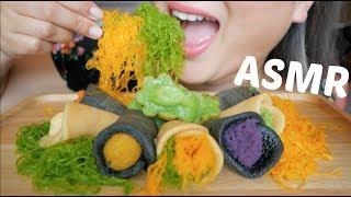 ASMR Thai Dessert *No Talking Eating Sounds| N.E Let's Eat