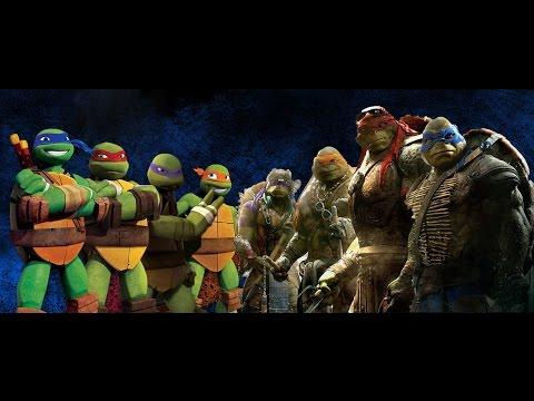 Teenage Mutant Ninja Turtles-2014 VS 2012-ERB
