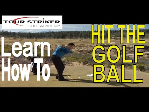 Tour Striker Martin Chuck - Learn Exactly How To Hit The Golf Ball
